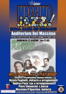 play verdi al Massimo